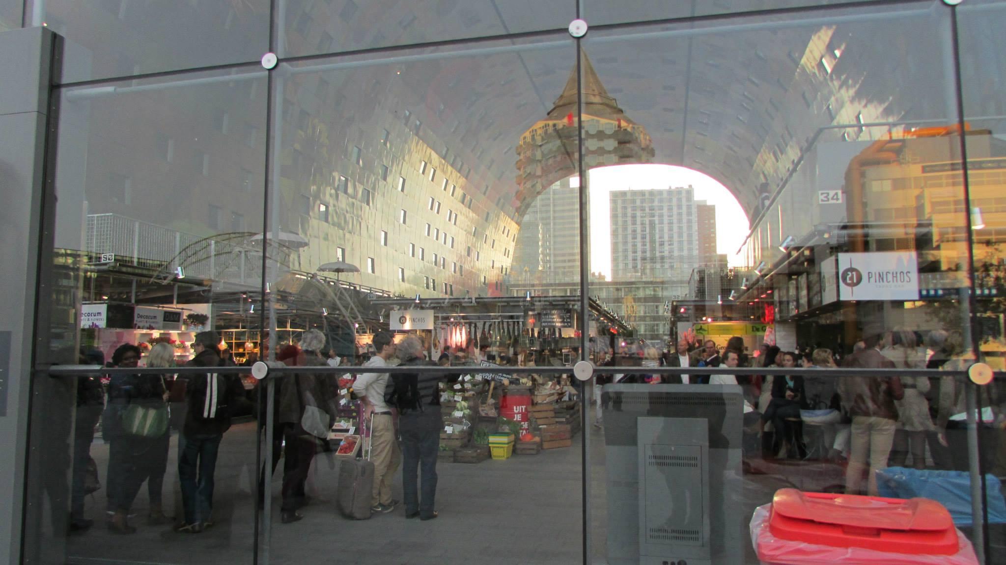 Markthal wordt druk bezocht