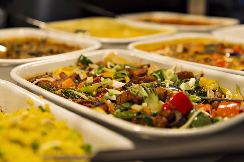 vegetarisch-buffet