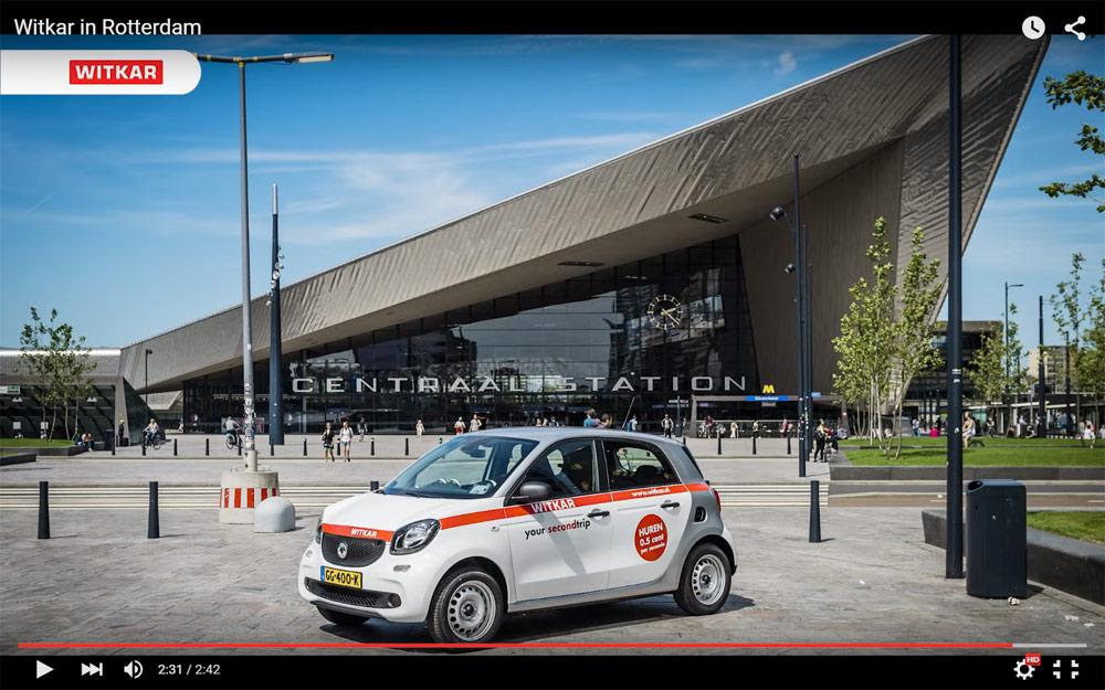 Witkar | De goedkoopste deelauto van Rotterdam
